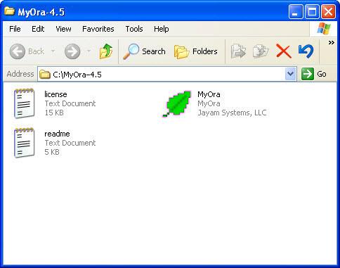 MyOra - Free Oracle Database Monitoring and SQL Tool